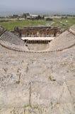 Amphitheather di Hierapolis, Denizli, Turchia Immagine Stock Libera da Diritti