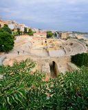 amphitheatre римский tarragona Стоковое Изображение RF