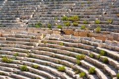 Amphitheatre 1 de Patara Fotografía de archivo libre de regalías
