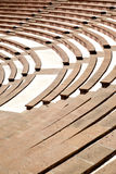 Amphitheatre. With lots emty seats Stock Photo