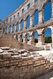 The amphitheatre Royalty Free Stock Images