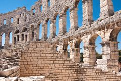 The amphitheatre Royalty Free Stock Image