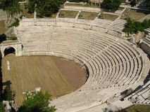 Amphitheatre Stock Photo