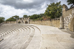 Amphitheatre in Altos DE Chavon, Casa DE Campo Royalty-vrije Stock Afbeelding