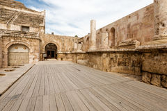 Amphitheatre in Amman, Jordan Stock Photography