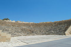 The amphitheatre of the ancient city Royalty Free Stock Image