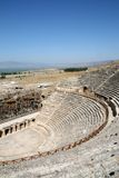 Amphitheatre of ancient Hierapolis Royalty Free Stock Photography