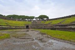 Amphitheatre in ancient Roman city of Pompeii, Italy Royalty Free Stock Photo