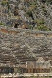 Amphitheatre antigo foto de stock royalty free