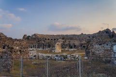 Amphitheatre antigo fotografia de stock royalty free