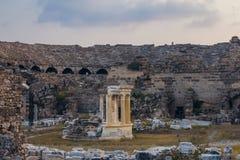 Amphitheatre antigo imagens de stock