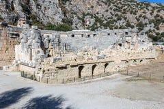 Amphitheatre antigo imagens de stock royalty free