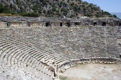 Amphitheatre antiguo Fotos de archivo