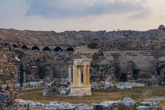 Amphitheatre antiguo Imagenes de archivo