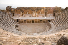 Amphitheatre antique Images libres de droits