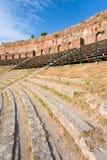 Amphitheatre antique extérieur Photographie stock