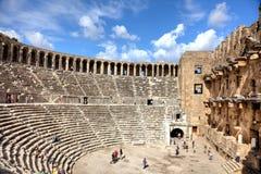 amphitheatre antyczny Obrazy Royalty Free