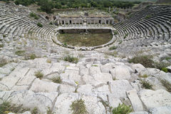 Amphitheatre in Aphrodisias, Aydin Stock Images