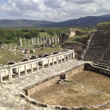 Amphitheatre in Aphrodisias Stock Photo