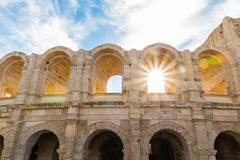 The Amphitheatre Of Arles Royalty Free Stock Photography