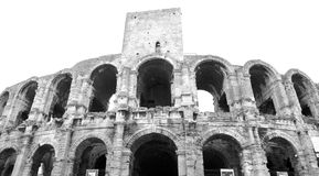 Amphitheatre in Arles Royalty Free Stock Photography