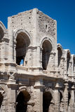 Amphitheatre in Arles, France Stock Photo