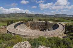 Amphitheatre in Aspendos, Turkey Stock Photography