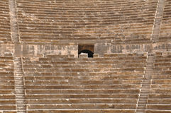 Amphitheatre auditorium, Bosra Royalty Free Stock Photo