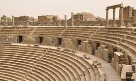 Amphitheatre auditorium, Bosra Royalty Free Stock Photo