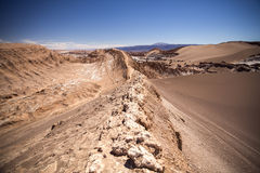 Amphitheatre is beautiful geological formation of Moon Valley Stock Image