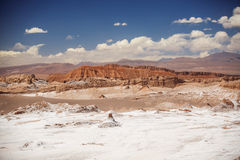 Amphitheatre is beautiful geological formation of Moon Valley Stock Images