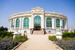 Amphitheatre building front view Royalty Free Stock Photo