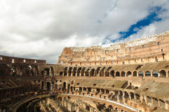Amphitheatre of The Colosseum or Coliseum Royalty Free Stock Photography