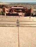 amphitheatre czerwieni skały zdjęcie royalty free