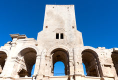 Amphitheatre d'Arles Image stock