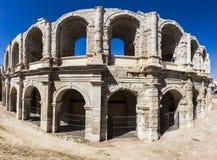 Amphitheatre d'Arles Images libres de droits