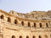 Amphitheatre d'EL Djem Image stock