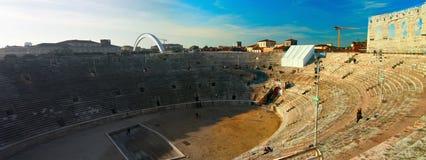 Amphitheatre da arena de Verona fotografia de stock royalty free
