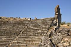 Amphitheatre de Aizanoi Cavdarhisar, Kutahya imagem de stock royalty free