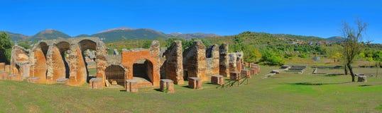 Amphitheatre de Amiternum Foto de archivo libre de regalías