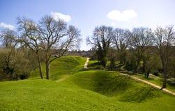 Amphitheatre de Cirencester Foto de Stock Royalty Free