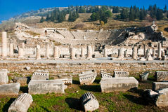 Amphitheatre de Ephesus Foto de archivo libre de regalías
