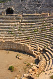 Amphitheatre de Patara Photo stock