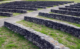 Amphitheatre de pedra antigo foto de stock royalty free