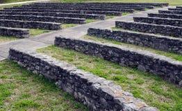 Amphitheatre de piedra antiguo Foto de archivo libre de regalías