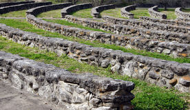 Amphitheatre de piedra viejo Foto de archivo