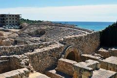 Amphitheatre de Tarragona fotografía de archivo