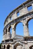Amphitheatre dei PULA fotografia stock