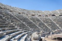 Amphitheatre in der Seite stockfotos