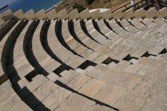 Amphitheatre di Curion. La Cipro Fotografie Stock